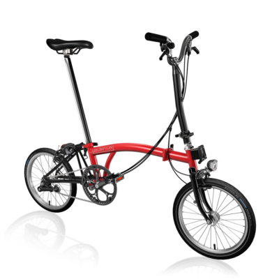 Brompton H6R-D Black Edition / Gloss Rocket Red