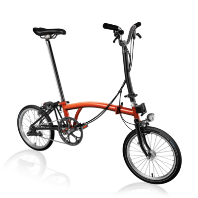 Brompton H6R-D Black Edition / Flame Lacquer