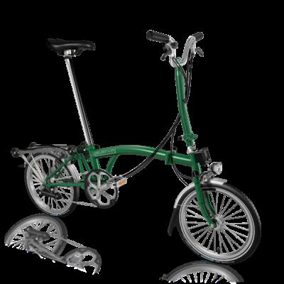 Brompton H6R-D Racing Green