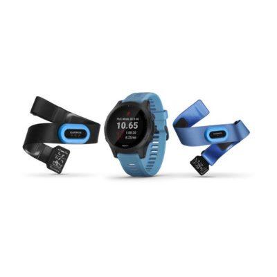 Garmin FORERUNNER 945 GPS Triathlonuhr Bundle, inkl. HRM-Tri + Swim Brustgurt