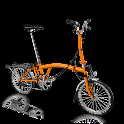 Brompton H6R-D orange